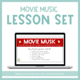 Movie Music - Lesson & Project for Google Slides™ | Distan