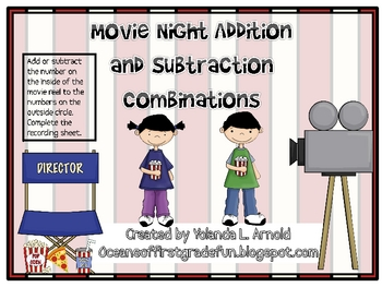 Movie Night Addition and Subtraction