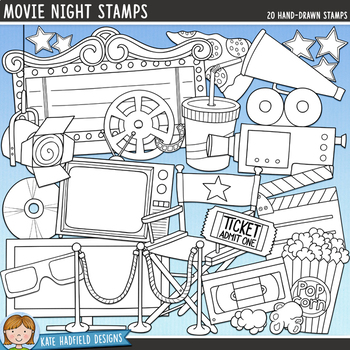 Movie Night Clip Art
