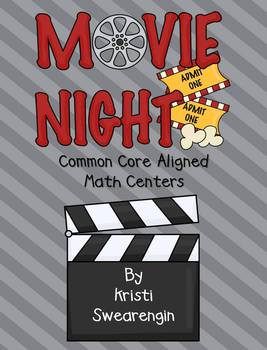 Movie Night! Common Core Aligned Math and ie, igh Literacy Centers