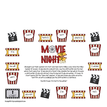 Movie Night Contractions