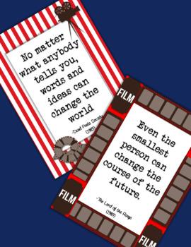 Movie Night Inspirational Posters