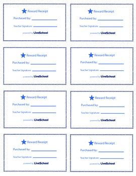 Movie Night Reward Cards