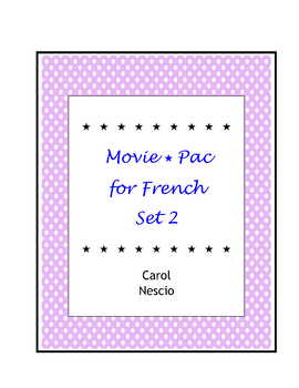 Movie * Pac For French Set 2