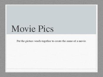 Movie Pics Game #1