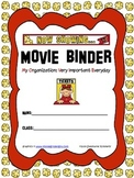 Movie {Popcorn} Binder Cover