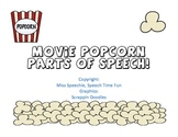 Movie Popcorn Parts of Speech