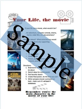 Movie Poster Art Project Prompt with Directions