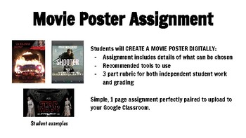 Movie Poster Assignment