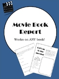 Movie Poster Book Report - Book Report Activity - - Introd