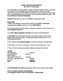 Movie Poster Book Report Worksheet