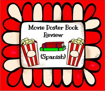 Movie Poster Book Report- Spanish