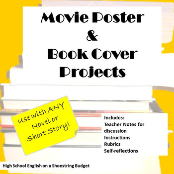 Movie Poster and Book Cover Projects, Works with Any Novel