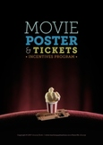 Movie Poster and Tickets - Reward System. Printable Incentives