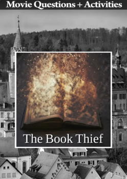 The Book Thief Movie Guide + Extras - Answer Key Included