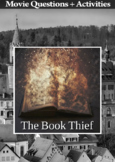 The Book Thief Movie Guide + Activities - Answer Key Included