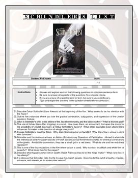 Movie Questions - Schindler's List