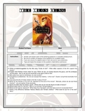 Movie Questions - The Lion King