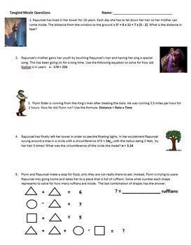 Movie Questions and Activities Growing Bundle Grades 6-8