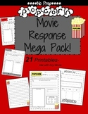 Movie Review Template and Worksheets