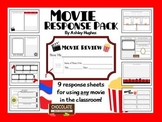Movie Response Pack: 9 Printables to Use With Movies! {A H