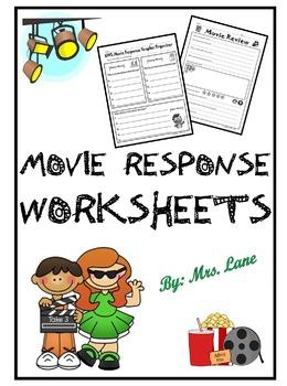 Movie Response Worksheets
