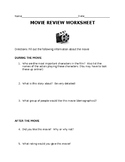 Movie Review Sheet