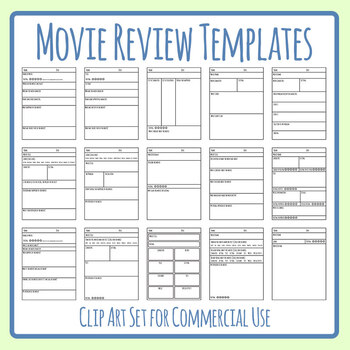 Movie Review Template Worksheets Teaching Resources Tpt