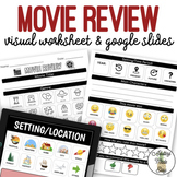 Movie Review Worksheet & Google Slides