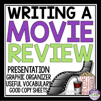 Writing a Film Review: A framework by nans - Teaching ...