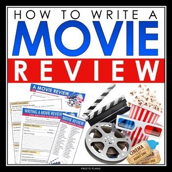 Writing movie reviews