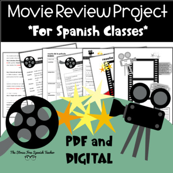 Movie Review for Spanish classes: Project Based Learning, Preterit