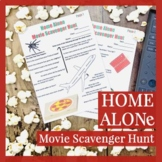 Christmas Movie Printable Scavenger Hunt Activity for Home Alone