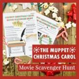 Christmas Movie Printable Scavenger Hunt Activity for The Muppet Christmas Carol