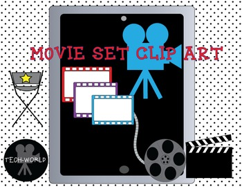 Movie Set Clip Art