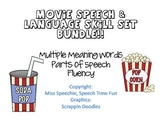 Movie Speech and Language Skills Bundle