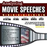 Movie Speech Rhetorical Analysis, Rhetorical Situation, Close-reading, Essay