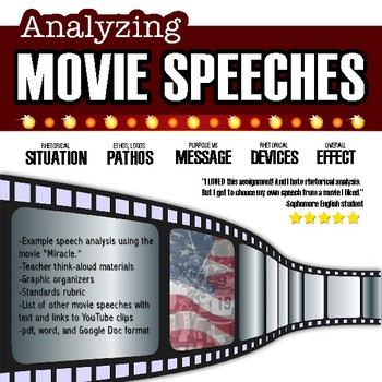 Movie Speech Rhetorical Analysis, Rhetorical Situation, Close-reading, Essay