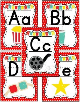 Movie Star Theme Classroom Decoration Pack