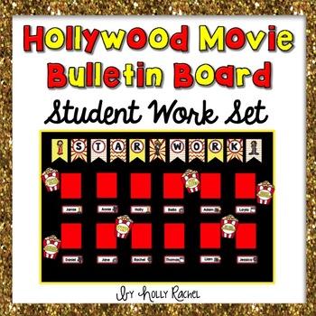 Movie Themed Student Work Bulletin Board Set