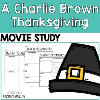 Movie Study: A Charlie Brown Thanksgiving