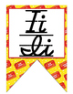 Movie - Hollywood  themed D'Nealian print and cursive Alphabet banner