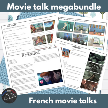 Movie Talk Megabundle - for French learners