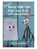 Movie Talk: Papel, roca, tijera y el acoso escolar Unit Plan