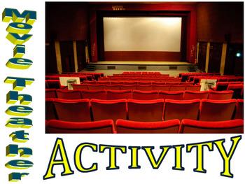 Algebra - Movie Theater Activity