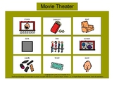 Movie Theater Bingo! [speech therapy and autism]