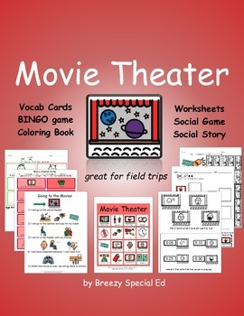 Movie Theater Community Trip Unit for Special Education