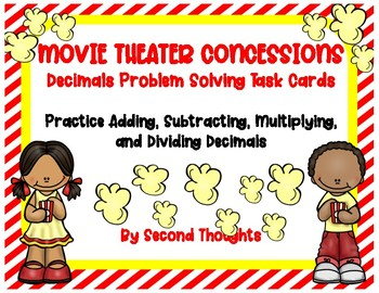 Movie Theater Concessions Decimals Math