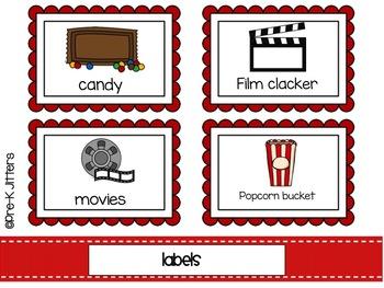Movie Theater Dramatic Play Kit