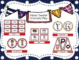 Movie Theater Dramatic Play Kit